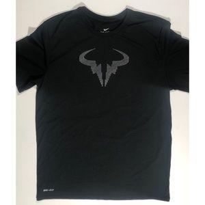 Rafael Nadal Nike Dri Fit shirt size Large.